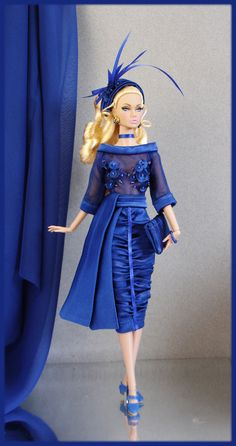 OOAK Fashions for Silkstone Fashion Royalty Vintage Barbie with Zipper | eBay
