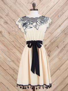 Zeliha's Blog: Embroidered Top Cute Summer Dress