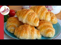 ÇITIRLIKTA REKOR 🏆🏆 ÇITIR ÇITIR KAT KAT ✅ KATMER BÖREK TARİFİ - YouTube Mini Cheesecakes, Pizza Recipes, Bread Baking, Beautiful Cakes, Yogurt, Sushi, Food And Drink, Yummy Food, Eat