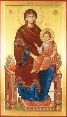 Roman History, Art History, Our Lady Of Rosary, Roman Church, Russian Icons, Blessed Mother Mary, Byzantine Icons, Madonna And Child, Religious Icons
