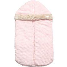 Mayoral - Girls Pink Knitted Baby Nest (78cm)   Childrensalon