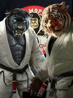 two most powerful animals in Chinese astrology Strategy: tends to charge the opponent and attack directly with brute force, uses circular arm movements to overwhelm the enemy, relies on the arms but occasionally uses low kicks Targets: any part of the body, ... Panther kungfu/jujitsu Tiger KungFu/Jujitsu Female Lion Tattoo, Female Tattoo Artists, Karate, Lion Tattoo With Crown, Mma, Art Of Fighting, Ju Jitsu, Thai Tattoo, Dark Tattoo