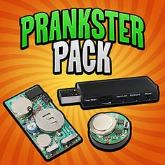 Prankster Pack: ThinkGeek  USB PhantomKeystroker: A switch on the side lets you select random gibberish typing, caps-lock toggling, mouse moving, or all three