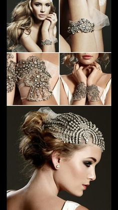 Old Hollywood Wedding Accessories
