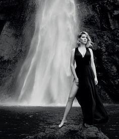 Lea Seydoux is the face of Louis Vuitton fragrances.