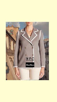 Max Mara Coat, International Fashion, S Star, Fashion Outfits, Womens Fashion, Coats For Women, Women Wear, Feminine, Model