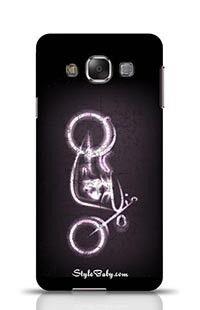 Motorbike Samsung Galaxy E7 Phone Case