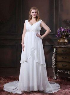 Resultado de imagen para vestidos griegos para matrimonio para gorditas