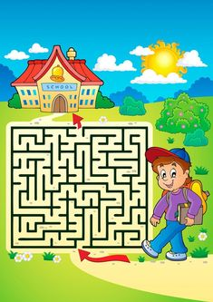 Schmitt Buffet e Eventos Dyslexia Activities, Fall Preschool Activities, English Activities, Toddler Activities, Spot The Difference Kids, Mazes For Kids, Maze Puzzles, File Folder Activities, Buffet