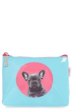 Catseye London 'Bulldog' Cosmetics Bag available at #Nordstrom