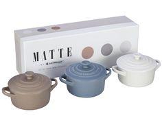 Set of 3 Mini Cocottes. I want!!