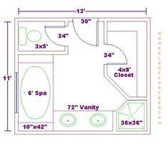 Free Bathroom Plan Design Ideas: Click image to close this window