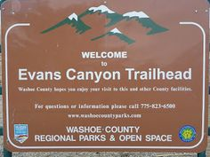 Evans Canyon Trailhead next to the Reno Sports Complex