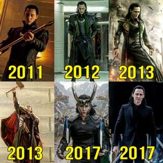 The evolution of Loki - Visit to grab an amazing super hero shirt now on sale!
