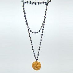 Alikreukel Necklace Long Lapis now featured on Fab.