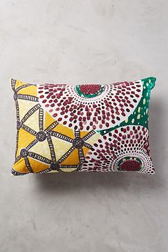 another sale find that came home with me! Ceplok Pillow #anthropologie