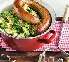 broccolistamppot met braadworst - Recept - Jumbo Supermarkten