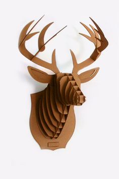 Cardboard Deer Taxidermy (Urban Outfitters)