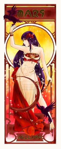 Sailor Mars Fanart by winetta.deviantart.com on @deviantART