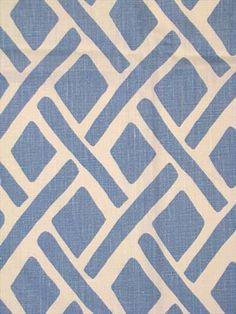 Treads River Kravet fabric 100% linen up the roll multi purpose decorator fabric.