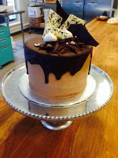 Chocolate birthday cake Www.theflourpot.ca