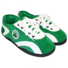 #celtics  Boston Celtics All Around Slippers