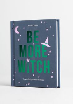 Be More Witch Book - Wanting to figure out how to find your inner magic? Look no further than this fun, informative book from Chronicle Books. Inside, discover a dose of magical escapism that will help you to channel determination and manifest positive change.