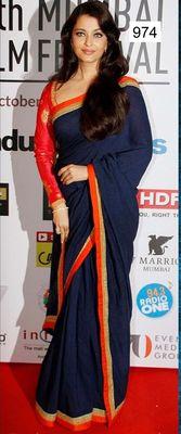 Aishwarya Rai Replica Saree Bollywood Sarees