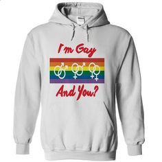Im Gay, and you? - #striped shirt #maxi tee. I WANT THIS => https://www.sunfrog.com/LifeStyle/Im-Gay-and-you-57928012-Guys.html?68278