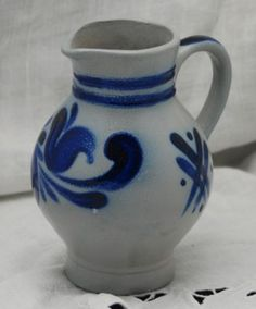 I love my German salt glazed pottery