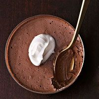 DO LOOK!  Chocolate-Espresso Mousse (Healthier Dessert  Recipe)