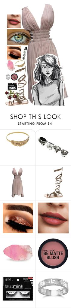 """piper mclean being claimed!"" by swagness-chase ❤ liked on Polyvore featuring SunaharA, H&M, Alaïa, Ancient Greek Sandals, SoapRocks and BillyTheTree"
