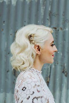 20 kurze blonde Hochzeit Frisuren, Hochzeit, kurze Frisuren, Braut, hübsch, Lowlights