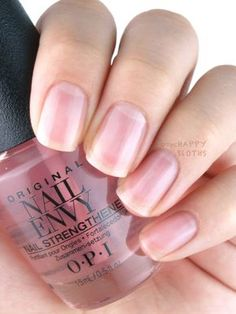 The Happy Sloths: New OPI Nail Envy Nail Strengthener Strength + Color: Review and Swatches