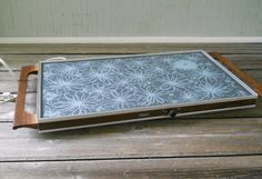 Vintage Warming Tray  Large Electric Buffet by lisabretrostyle2