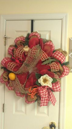 Louisiana wreath for mom!!!!