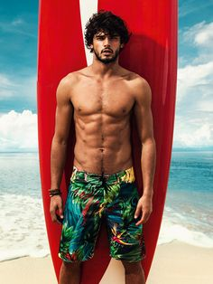 Brazilian model Marlon Teixeira fronts the Spring/Summer 2014 campaign of Coca-Cola Clothing, photographed by Pedrita Junckes and styled by Fabio Ishimoto.