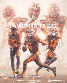 Johnny Silva on Behance Go Browns, Browns Fans, Baker Mayfield Nfl, Cleveland Browns Wallpaper, Odell Beckham Jr Wallpapers, Cleveland Browns Football, Sport Inspiration, Design Inspiration, Nfl Football Players