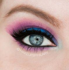 """Fantasia"" by makeupbyhilary using the Makeup Geek Corrupt eyeshadow."