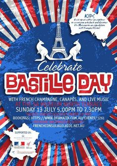 bastille day, french revolution, south australian museum, in adelaide, french consulate, family event