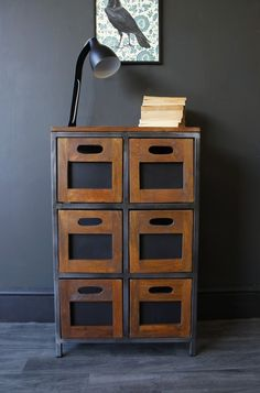 Hudson 6 Drawer Wooden Storage Chest Of Drawers - Chest of Drawers - Furniture