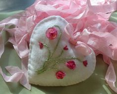 Felt Mothers Day Spring Ornament  Hand Stitched  by myalteredmuse, $12.00