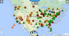 Nuclear Reactor Map - Climate Viewer Mobile