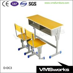 China School Student Desk And Chairs Furniture For Classroom