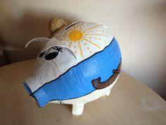 grosses Sparschwein - Urlaubskasse - Kartenbox -  von Ramonas Sparschweine-Glücksschweine  Geldgeschenke und Geschenkideen für jeden Anlass auf DaWanda.com