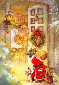 Quello che conta non sarà sotto l'albero, non verrà incartato e non ha prezzo. Quello che conta lo troverai nell'aria, in un abbraccio, in un semplice sorriso, in uno sguardo o un bacio... Questo è il mio augurio: un Natale colmo di cose che contano che possano arrivare al cuore ed abbracciare la nostra anima.