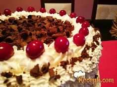 Čokoladna Schwarzwald torta