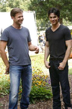 Damon & Alaric