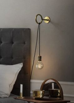 Circus Loop Minimalist Wall Light With Wall Socket Circus Loop Minimalist Wall Light With Wall Socket - Tudo&Co – Tudo And Co Hanging Lights Living Room, Wall Hanging Lights, Hanging Light Bulbs, Living Room Lighting, Hanging Light In Bedroom, Bedroom Wall Lights, Industrial Hanging Lights, Pendant Lighting Bedroom, Bedside Lighting