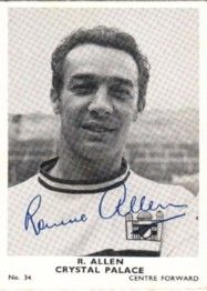 34. Ronnie Allen Crystal Palace